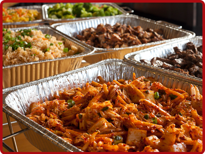 Asian Food Catering